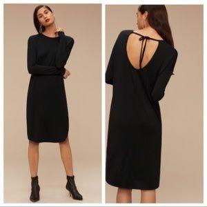 Aritzia Babaton Jaco Black Dress